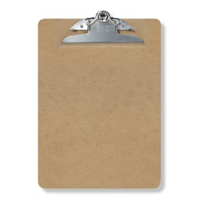 The clipboard that was going to be shoved up Jake's rectum